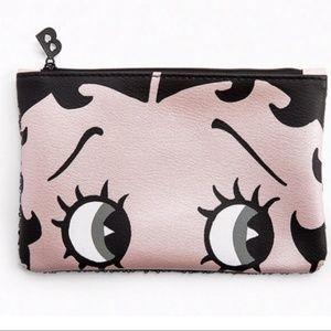 NWOT Betty Boop Makeup Bag